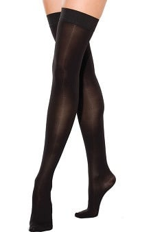 Therafirm by Cherokee Women's 30-40Hg Thigh High Closed Toe