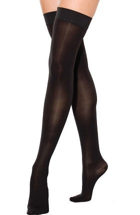 Clearance Therafirm by Cherokee Women's 30-40 mmHg Thigh High Closed Toe