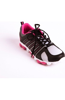 Footwear by heartsoul Women's Mesh Lace Up Athletic Shoe