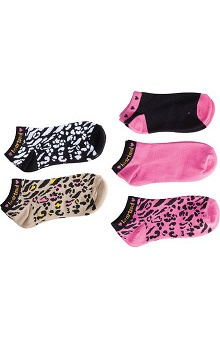 heartsoul Women's No Show Socks 5 Pair