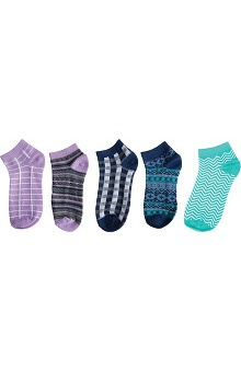 Clearance Footwear By Cherokee Women's 5Pr Pack Of No Show Socks