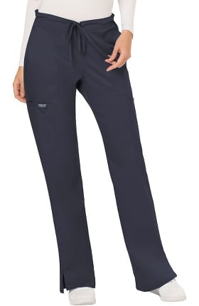 Revolution by Cherokee Workwear Women's Drawstring Flare Scrub Pant