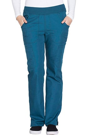 Cherokee Workwear Women's Straight Leg Pull-On Scrub Pant