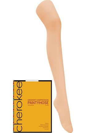 Footwear by Cherokee Women's 12 mmHg Compression True Support Pantyhose