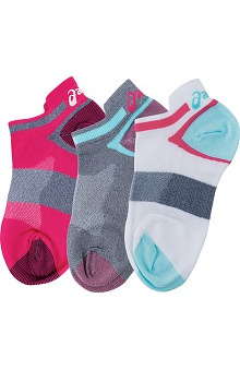 Asics Women's No Show Socks 3 Pack