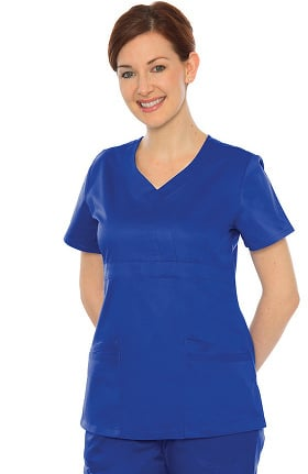 Durable Stretch by Crush Women's Babe V-Neck Scrub Top