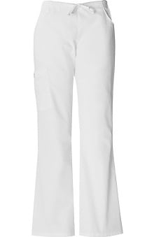 Clearance Everyday Scrubs by Dickies Women's Back Elastic Cargo Scrub Pants