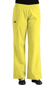 Clearance Everyday Scrubs by Dickies Women's Elastic Waist Wide Leg Scrub Pants