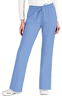 unisex pants: Everyday Scrubs by Dickies Unisex Daisy Paper Bag Waist Scrub Pants