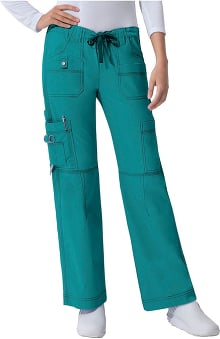 general hospital scrubs: Gen Flex by Dickies Womens Junior Youtility Scrub Scrub Pants
