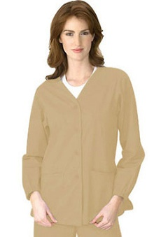 Clearance Dickies Women's W Fashion Solid Scrub Jacket
