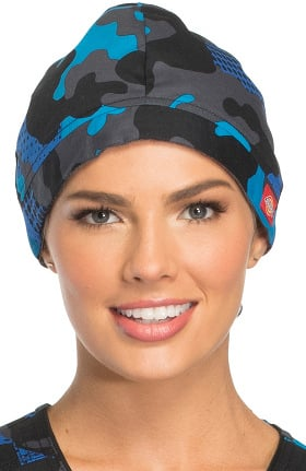 Fashion Prints by Dickies Unisex Camo Print Scrub Hat