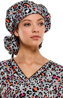 Everyday Scrubs Signature by Dickies Women's Bouffant Print Scrub Hat