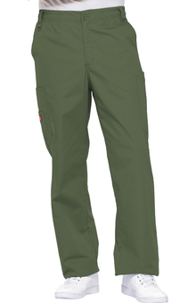 Everyday Scrubs Signature by Dickies Men's Zip Fly Pull On Pant