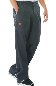 Evolution NXT by Dickies Men's Elastic Waist Cargo Scrub Pant