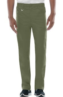Clearance Everyday Scrubs Signature Stretch by Dickies With Certainty Antimicrobial Fabric Technology Men's Zip Fly Pull-On Scrub Pant
