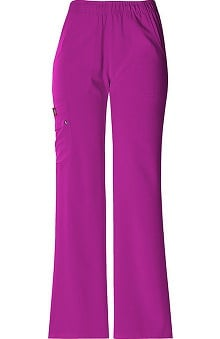 petite: Xtreme Stretch by Dickies Womens Junior Elastic Waist Solid Scrub Pant