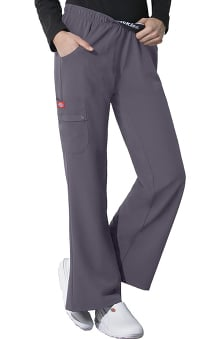 Xtreme Stretch by Dickies Women's Elastic Waist Solid Scrub Pant