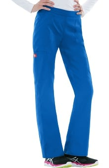 Clearance Everyday Scrubs Signature Stretch by Dickies With Certainty Antimicrobial Fabric Technology Women's Mid-Rise Pull-On Scrub Pant