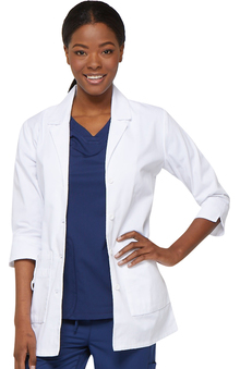 "Everyday Scrubs by Dickies Women's Junior Professional 30"" Lab Coat"