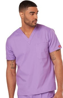 Everyday Scrubs Signature by Dickies Unisex V-Neck Top