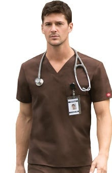 Clearance Everyday Scrubs Signature by Dickies Unisex V-Neck Top