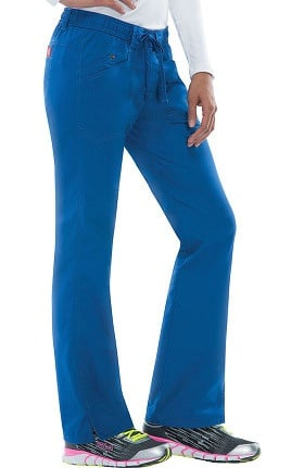 Clearance Evolution NXT by Dickies Women's Elastic Waist Cargo Scrub Pant