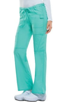 Everyday Scrubs Signature by Dickies Women's Low Rise Drawstring Cargo Pant