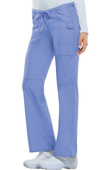 Clearance Everyday Scrubs Signature by Dickies Women's Low Rise Drawstring Cargo Pant