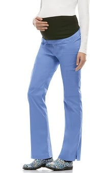 Gen Flex by Dickies Women's Maternity Knit Waist Scrub Pant