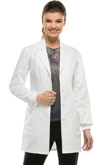 "Gen Flex by Dickies Women's Rib Knit Cuff 32"" Lab Coat"