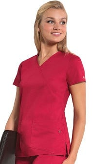 Evolution NXT by Dickies Women's Mock Wrap Top
