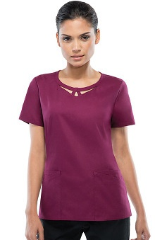 Everyday Scrubs Signature by Dickies Women's Round Neck Top