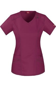 Gen Flex by Dickies Women's V-Neck Scrub Top