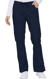 petite: Dickies Everyday Scrubs Signature Women's Mid Rise Drawstring Cargo Pant