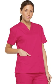 Everyday Scrubs Signature by Dickies Women's Missy V-Neck Top