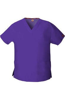 Clearance Everyday Scrubs Signature by Dickies Women's V-Neck Top