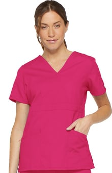 Everyday Scrubs Signature by Dickies Women's Mock Wrap Top
