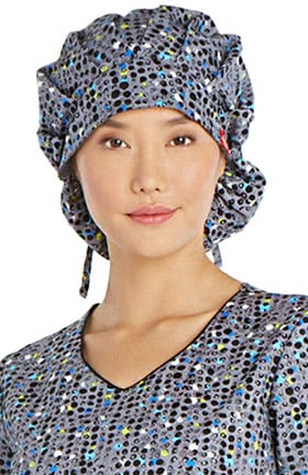 Dickies Women's Print Bouffant Scrub Hat