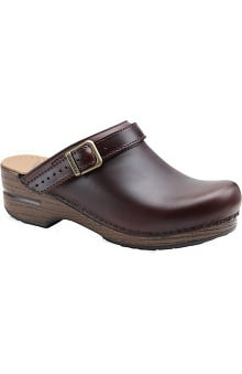 shoes: Stapled Clog by Dansko Women's Ingrid Oiled Nursing Shoe