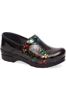 narrow: Stapled Clog by Dansko Womens Professional Patent