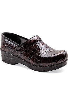 shoes: Stapled Clog by Dansko Womens Professional Patent