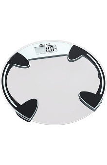Medical Devices new: Escali Clear Round Glass Scale