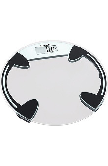 Escali Clear Round Glass Scale