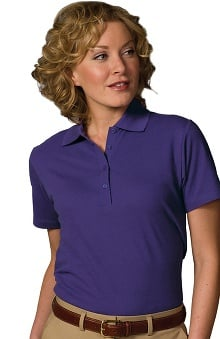 Edwards Garment Women's Short Sleeve Soft Touch Polo