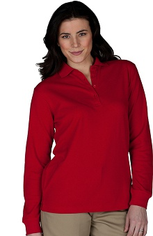 Edwards Garment Women's Long Sleeve Polo