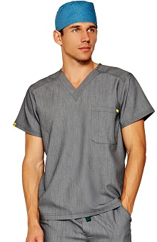 FIGS Men's Work Hard, Play Hard Antimicrobial Scrub Top