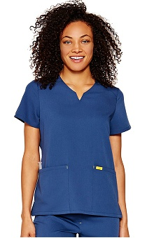 Clearance FIGS Women's You're A Life Saver Antimicrobial Scrub Top