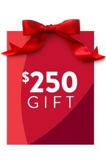 allheart $250 Gift Certificate