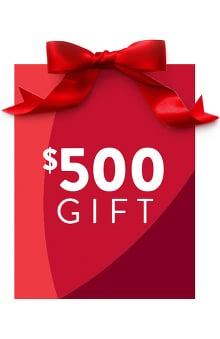 allheart $500 Gift Certificate